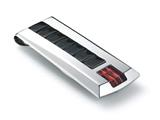 Tonino Lamborghini Primo Collection Stainless Steel Money Clip with Three Red Cr Style #TMC004000