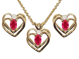 Ruby Hearts Boxed Gift Sets