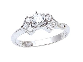 Round Diamonds Engagement Ring