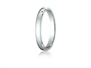 3mm Comfort Fit Wedding Band By Benchmark(r)