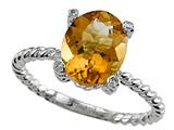 Genuine Citrine Ring by Effy Collection® Style #520088