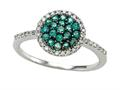 Genuine Emerald and Diamond Ring by Effy Collection(r)