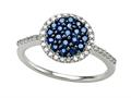 Genuine Sapphire and Diamond Ring by Effy Collection(r)