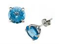 Genuine Blue Topaz Earrings by Effy Collection(r)