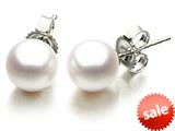 Akoya Cultured Pearl Earrings AA 6-6.5 mm with 14kt Gold Post