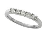 Round Diamonds Band 0.25 cttw - IGI Certified Style #370033