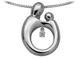 Original Mother and Child® Heartbeat Pendant by Janel Russell Style #M291W41M