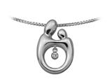 Original Mother and Child® Heartbeat Pendant by Janel Russell Style #M292W41M