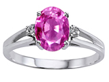 Lab Created Pink Topaz