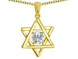 Tommaso Design™ Genuine Jewish Star of David Pendant by Devorah. Style #305052