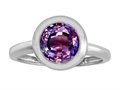 Original Star K(tm) 8mm Round Solitaire Engagement Ring With Simulated Alexandrite