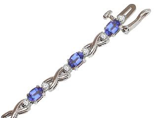 Genuine Tanzanite Bracelet