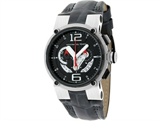 Officina Del Tempo Racing 44mm Chronograph Leather Band (OT1051/1440NWG) Made in Italy