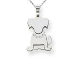 The Kids® Dog Collar Charm / Pendant Necklace - 18 Inch Chain Included Style #XK870AA