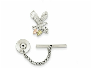 Sterling Silver Eagle Pin Tie Tack