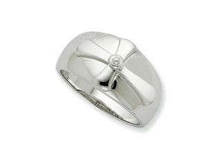 Sentimental Expressions(tm) Sterling Silver Purity Mens Ring