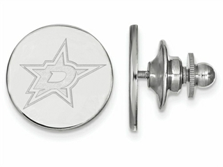 LogoArt Sterling Silver Dallas Stars Lapel Pin