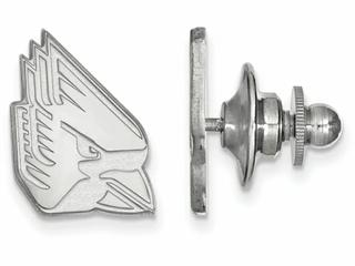 LogoArt Sterling Silver Ball State University Lapel Pin
