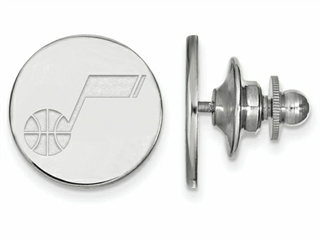 LogoArt Sterling Silver Utah Jazz Lapel Pin