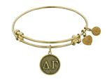 Angelica Collection Delta Gamma Expandable Bangle Style #GEL1228