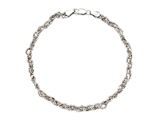 Sterling Silver 10 Inches Ankle Bracelet