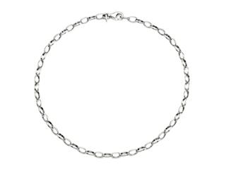 Sterling Silver 10 Inches Adjustable Ankle Bracelet