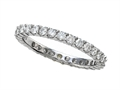Round Diamonds Eternity Band - IGI Certified
