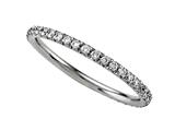 Round Diamonds French Pave Eternity Band Style #2121D