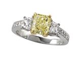 Natural FY Diamond Ring Style #4974