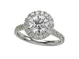 Diamond Round Ring Style #4994