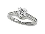 Diamond Round Ring Style #5794