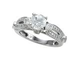 Diamond Round Pave Ring Style #6261