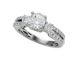 Diamond Round Pave Ring Style #6262